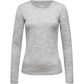 super.natural Base 175 LS Shirt Dame ash melange